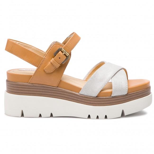 08f88731e570 Sandals GEOX - D Radwa C D827UC 07743 C1Q5G Off White Caramel ...