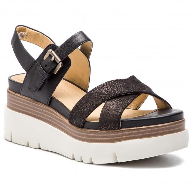 Sandals GEOX - D Radwa C D827UC 07743 C9999 Black - Wedges - Mules ... 163d6b3c30d
