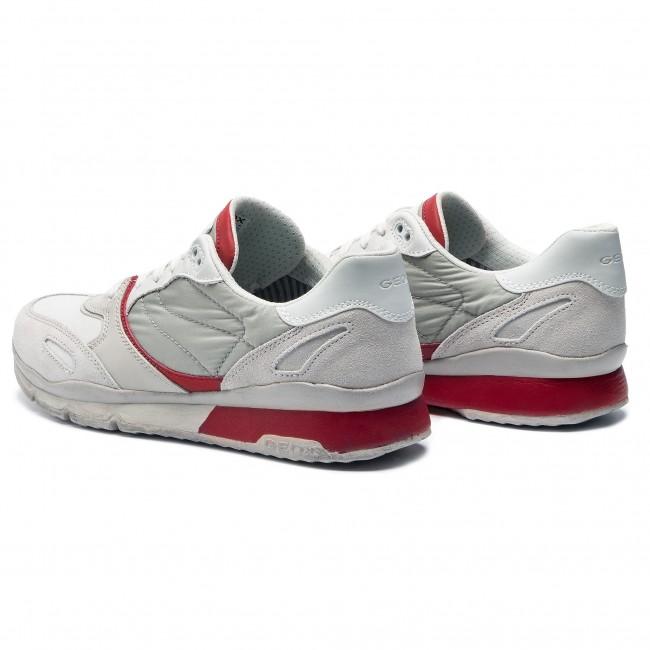 Sneakers GEOX U Sandro A U72A6A 020FU C1S7V PapyrusRed