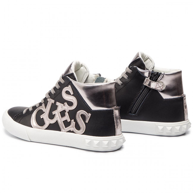 135fdf8b7b447 Sneakers GUESS - Icon High FT6ICH LEA12 BLACK - Sneakers - Low shoes ...
