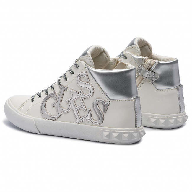 589473d539041 Sneakers GUESS - Icon High FJ6ICH LEA12 OWT - Sneakers - Low shoes ...