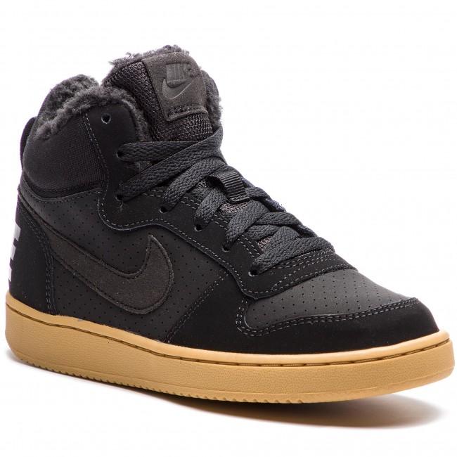 Shoes NIKE - Court Borough Mid Wntr GS AA3458 002 Black Black Gum Light  Brown 418672ed5e