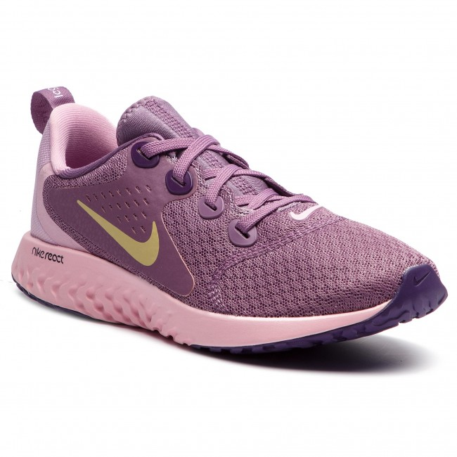 28626b6002b069 Shoes NIKE - Legend React (GS) AH9437 500 Violet Dust Mtlc Gold Star ...