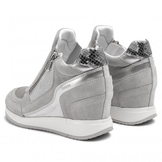 Sneakers Lt 022NF C1010 Nydame A D620QA D GEOX Grey 7wqzr7
