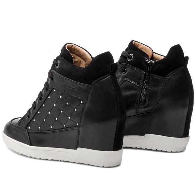 avaro matriz Oculto  Sneakers GEOX - D Carum C D84ASC 08522 C9999 Black - Sneakers - Low shoes -  Women's shoes | efootwear.eu