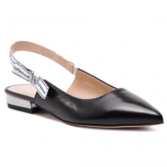 FEMME A19000 sandals 61 46830 05 Black Casual Sandals SOLO 00 5zpqBIIn