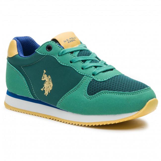 nascita centesimo Ridondante  Sneakers U.S. POLO ASSN. - Shire NOBIK4127S9/HN1 Gre - Laced shoes - Low  shoes - Boy - Kids' shoes | efootwear.eu