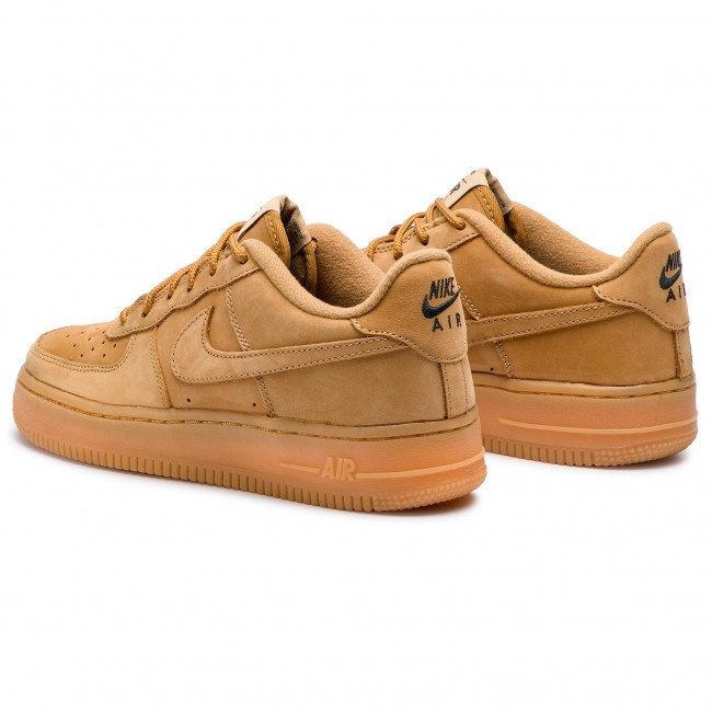 buy popular 5c2e2 ff378 Shoes NIKE - Air Force 1 Winter Prm Gs 943312 200 Flax Flax Outdoor