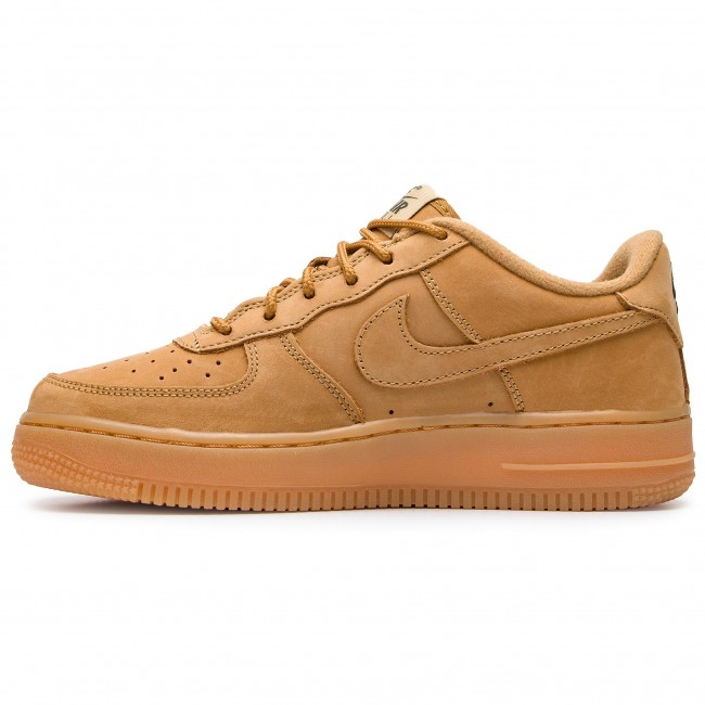 Shoes NIKE Air Force 1 Winter Prm Gs 943312 200 FlaxFlaxOutdoor Green