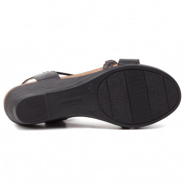 Sandals REMONTE R4458 01 Schwarz