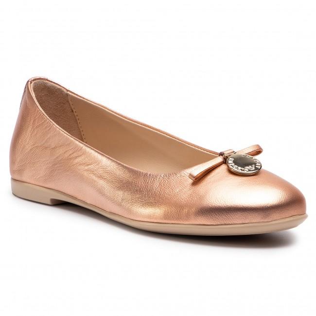 Flats EMPORIO ARMANI - XXD001 XON04 00163 Copper - Ballerina shoes ... bee8308d9e6