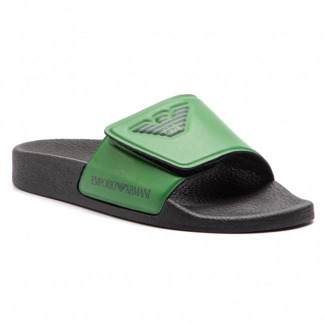 96b4b2811268 slides emporio armani xyps01 xoz06 n761 dark green green casual .