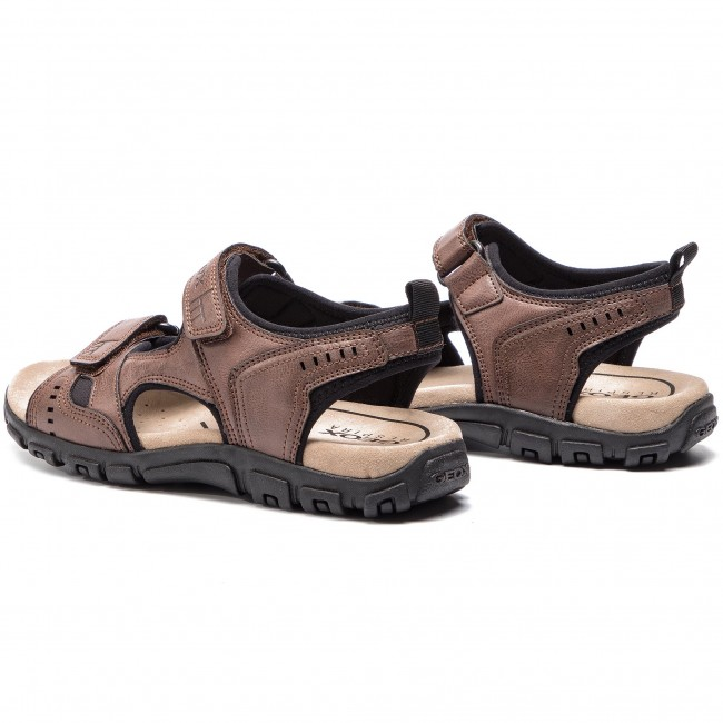 fabb7dd6d65b Sandals GEOX - U S.Strada A U4224A 000ME C6009 Coffee - Sandals ...