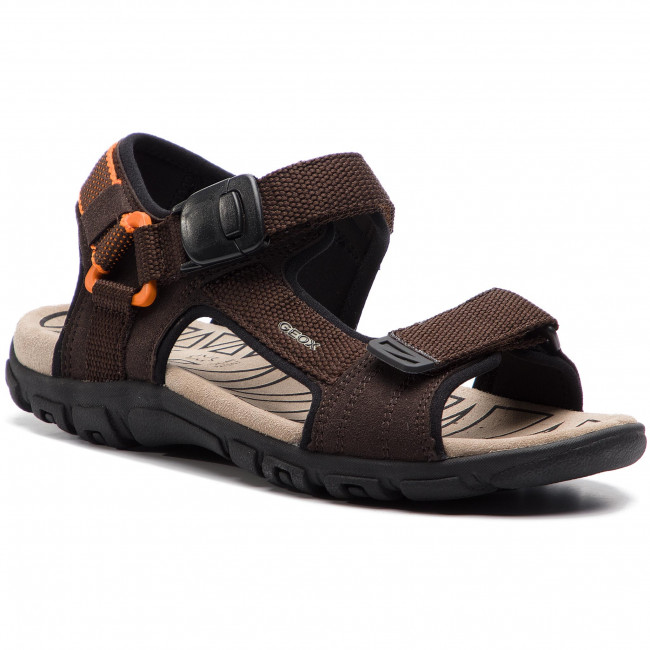 424d81dcc9fd Sandals GEOX - U S.Strada B U9224B 000AF C0607 Coffee Orange ...
