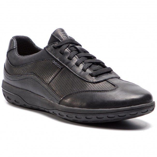 Sneakers GEOX - U Mansel A U924AA 00043 C9999 Black - Sneakers - Low ... 7f93e316f80