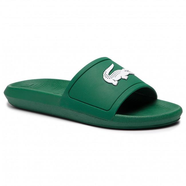28ea48290 Slides LACOSTE - Croco Slide 119 1 Cma 7-37CMA00181R7 Green White ...