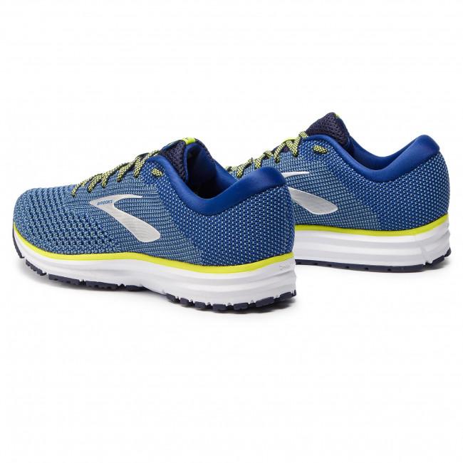 3f686535538 Shoes BROOKS - Revel 2 110292 1D 418 Sodalite Citadel Lime ...