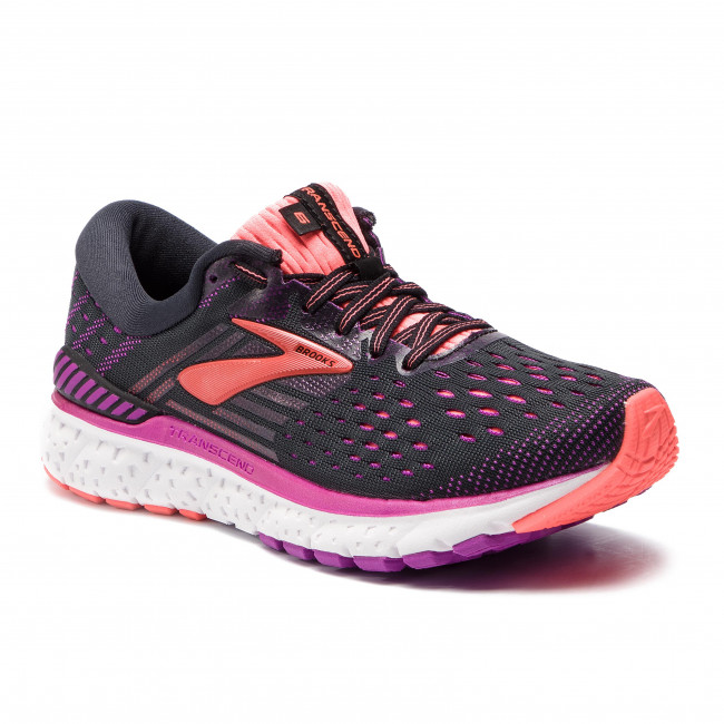 18c7fd05925 Shoes BROOKS - Transcend 6 120287 1B 080 Black Purple Coral - Indoor ...
