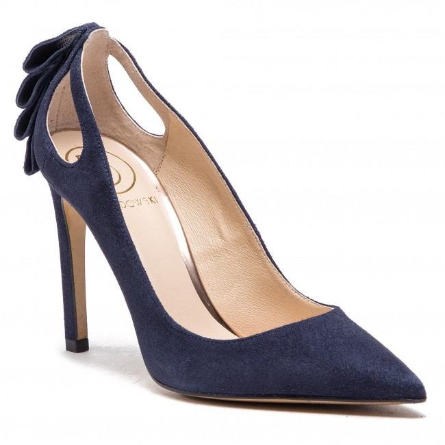 822956380949 Stilettos BALDOWSKI - W00476-1451-017 Zamsz Top Blue - Stilettos ...