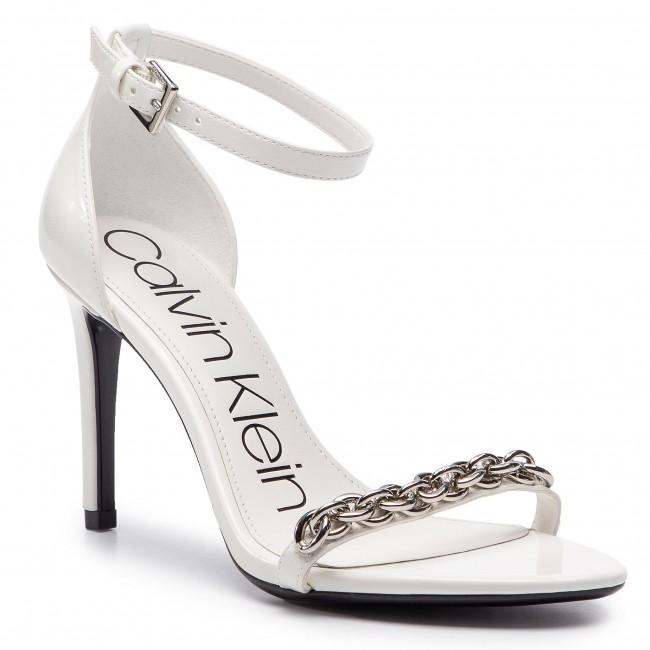 75374872aec Sandals CALVIN KLEIN - Rajni E8858 White - Elegant sandals - Sandals ...