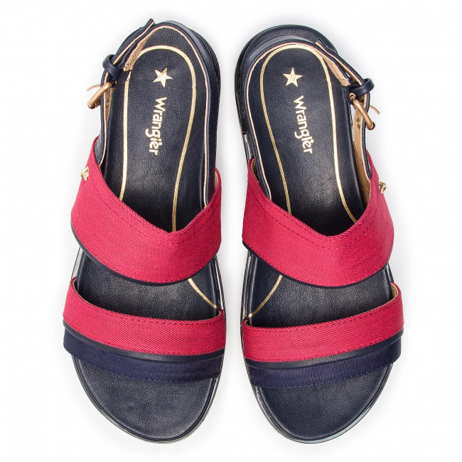 Red Wl91613a Wedges 087 America Nico Wrangler 0pnnoxz8kw Mules Sandals SpUzVMq