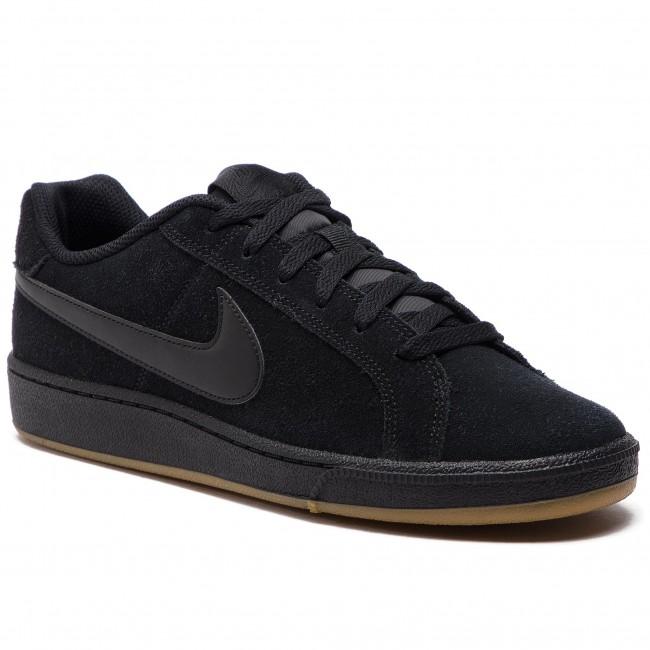 best service 47877 6399c Shoes NIKE - Court Royale Suede 819802 008 BlackBlackGum Light Brown