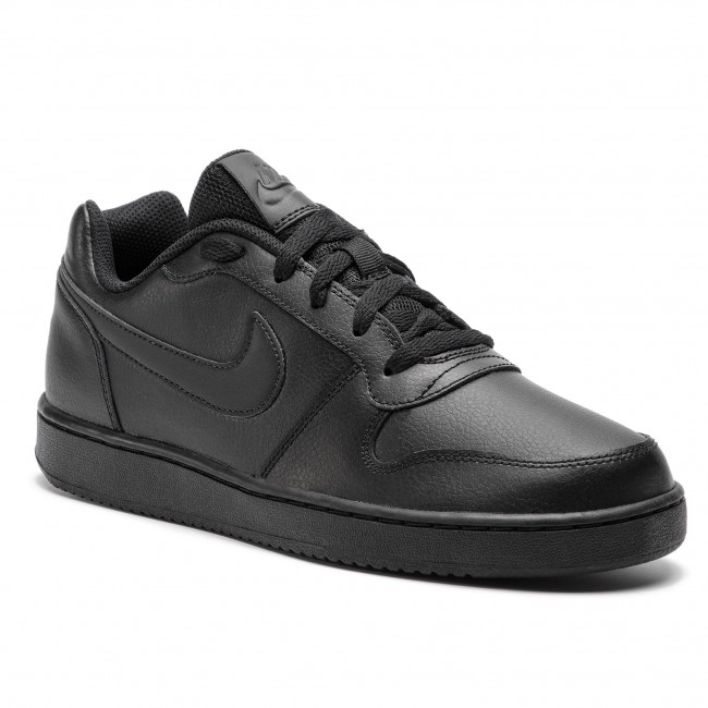 Shoes NIKE - Ebernon Low AQ1775 003 Black Black - Sneakers - Low ... ee9ad77686723