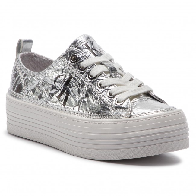 d3766e0532 Sneakers CALVIN KLEIN JEANS - Zolah RE9848 Silver - Sneakers - Low ...