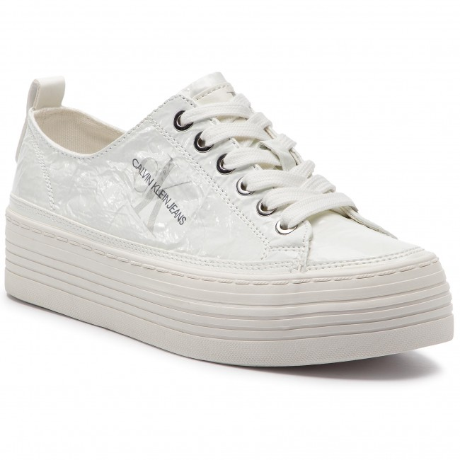 9c9f1925ee Sneakers CALVIN KLEIN JEANS - Zolah RE9848 White - Sneakers - Low ...