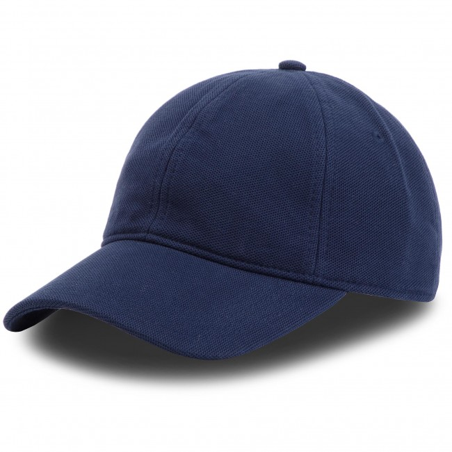35a36e6fa4b43 Cap LACOSTE - RK0123 Navy Blue 166 - Women s - Hats - Fabrics ...