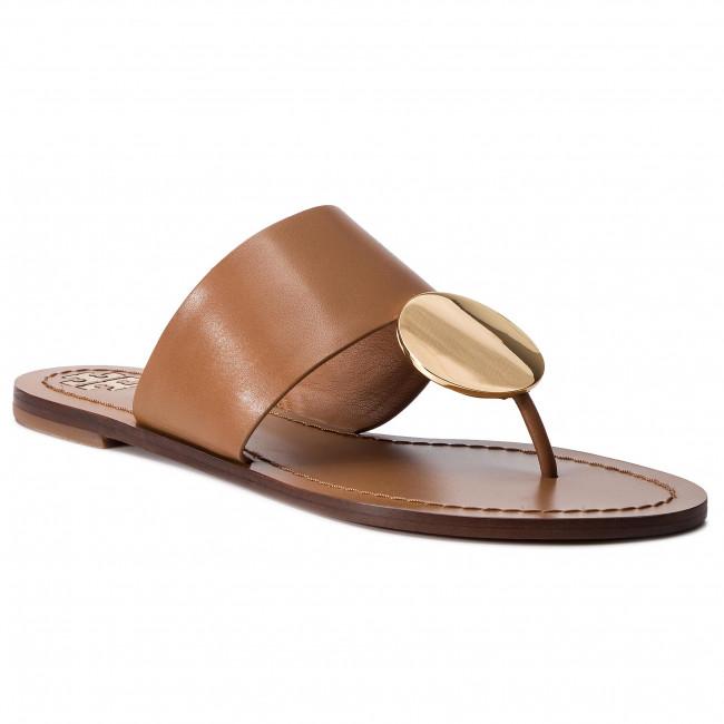 b727f275d Slides TORY BURCH - Patos Disk Sandal 46914 Tan Gold 207 - Flip ...