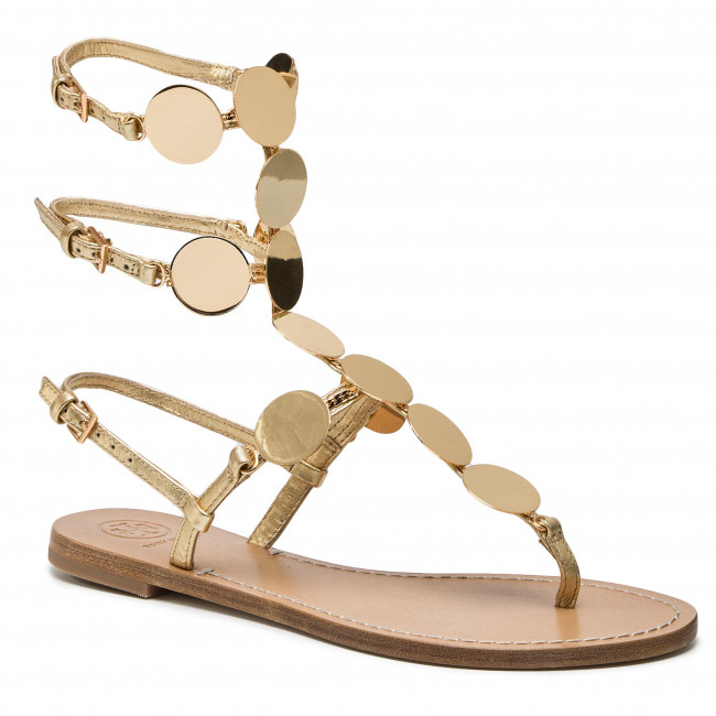 28f7d3c213cb Sandals TORY BURCH - Patos Disk Gladiator 55721 Gold Gold 709 ...