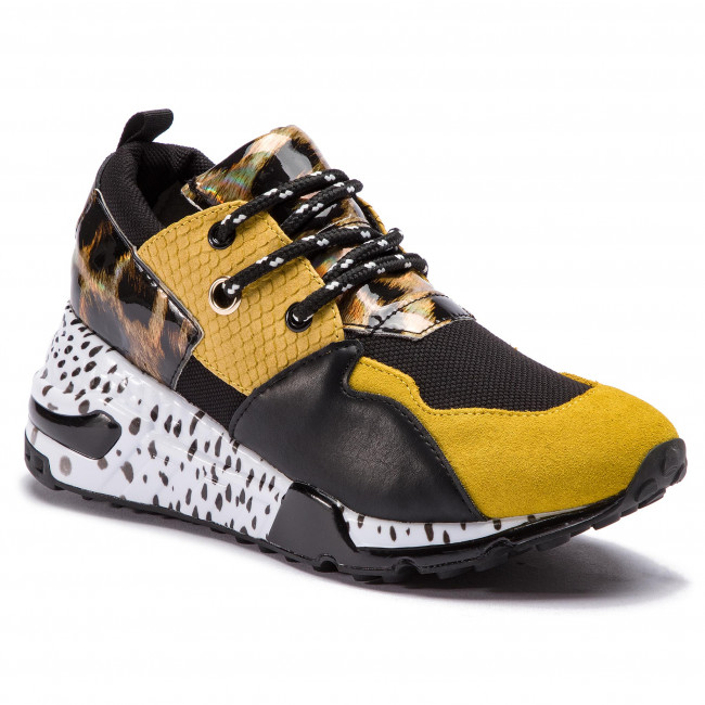 e6a8eee02740 Sneakers STEVE MADDEN - Cliff Sneaker SM11000185-04005-713 Yellow ...