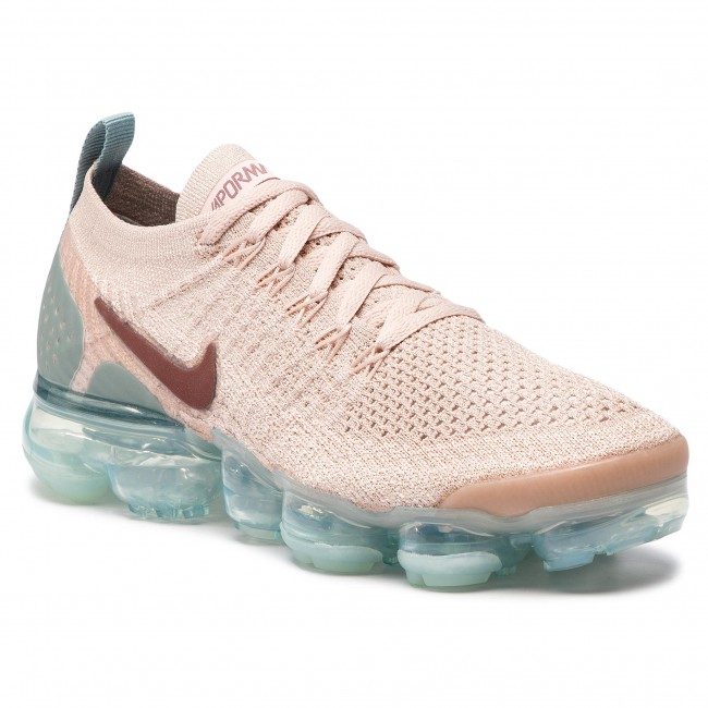 611272f53489 Shoes NIKE - Air Vapormax Flyknit 2 942843 203 Particle Beige Smokey Mauve
