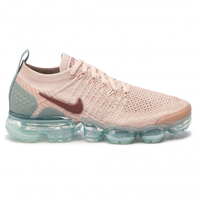48699e25b890 Shoes NIKE - Air Vapormax Flyknit 2 942843 203 Particle Beige Smokey Mauve