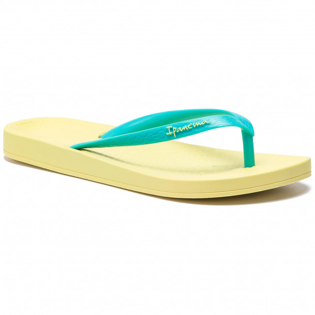 46889cd251c2 Slides IPANEMA - Anatomica Tan Fem 81030 Yellow Blue 24100 - Flip ...
