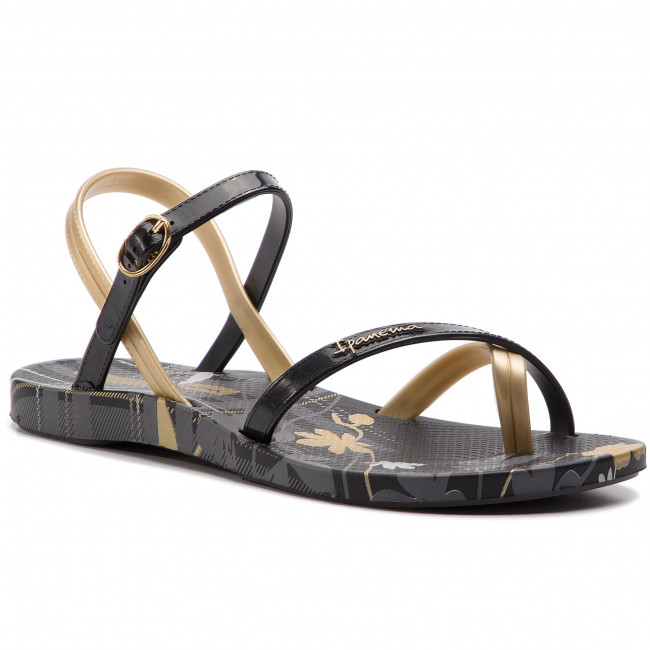 690cd6274 Sandals IPANEMA - Fashion Sand. VI F 82521 Black Blck Gold - Casual ...