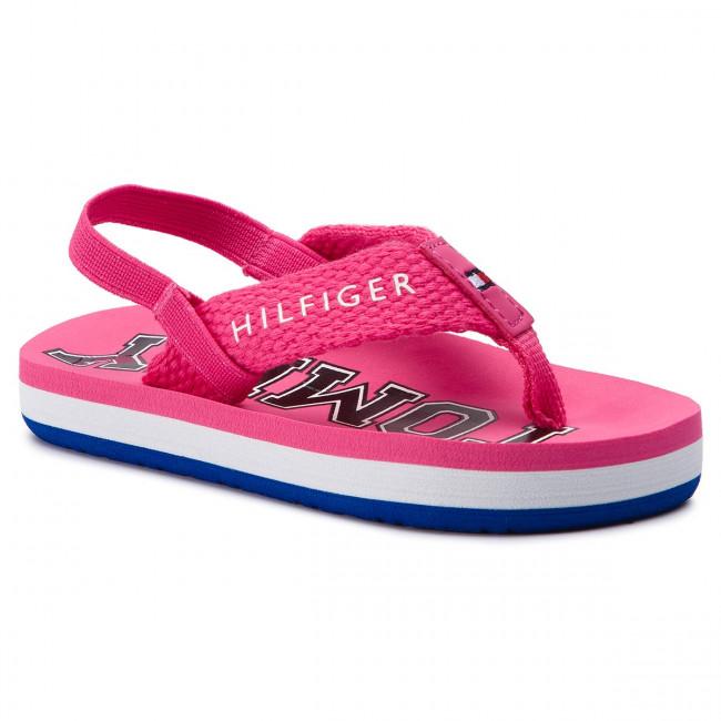 ca6e092e33b4 Sandals TOMMY HILFIGER - Varsity Print Flip Flop T1A2-30198-0058 ...