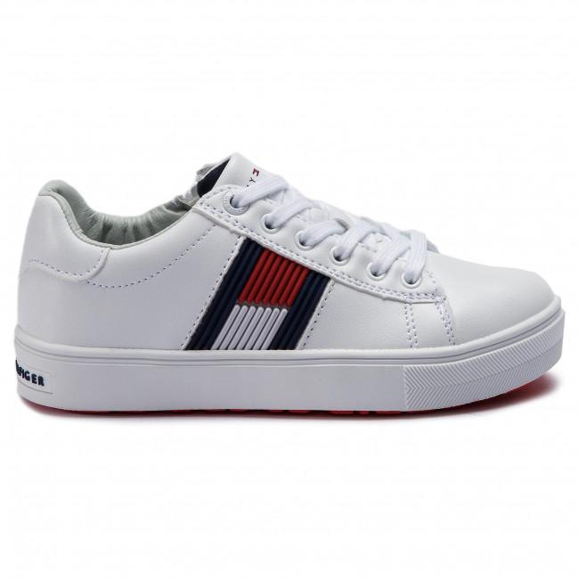 de34c819b91 Sneakers TOMMY HILFIGER - Low Cut Lace-Up Sneaker T3B4-30320-0625 M ...