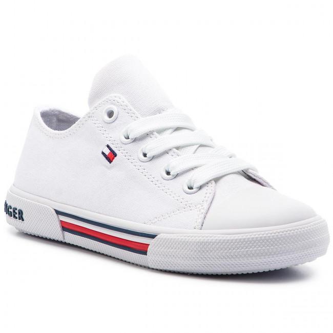 daae17fd9 Sneakers TOMMY HILFIGER - Low Cut Lace-Up Sneaker T3X4-30278-0034 M ...