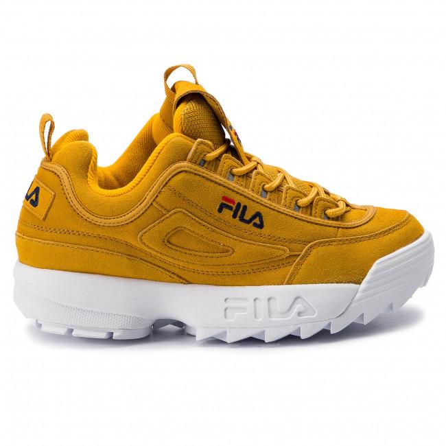 aa85e5123fb Sneakers FILA - Disruptor S Low 1010577.60I Inca Gold - Sneakers ...