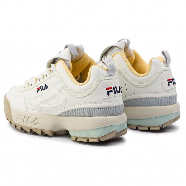 8fa42f71a29a7 Sneakers FILA - Disruptor Cb Low Wmn 1010604.02X Marshmallow Gray Violet