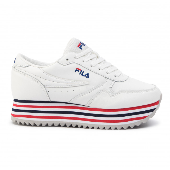 855ad55a847 Sneakers FILA - Orbit Zeppa Stripe Wmn 1010667.02P White Stripe ...