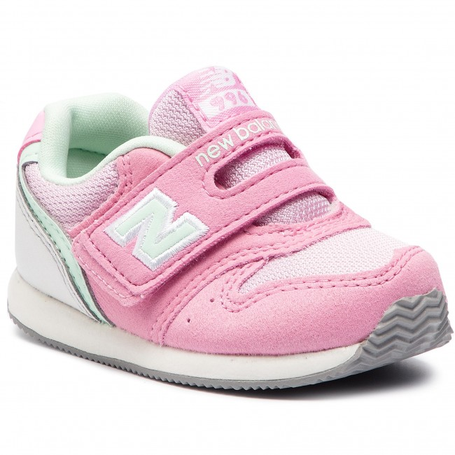 Sneakers New Balance Iv996pmt Pink Velcro Low Shoes Girl
