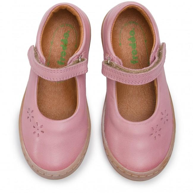 G3140082 Froddo Girl Leather Mary Jane Shoe In Fuchsia New Season