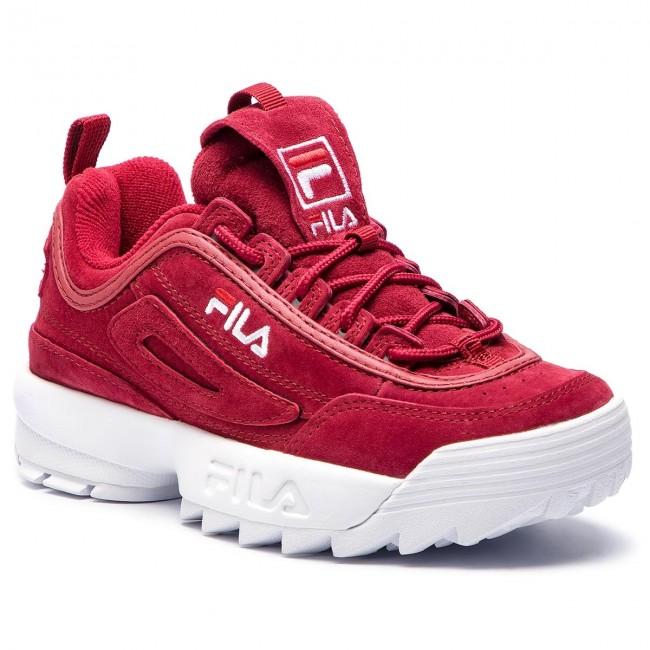 cccfe6209c4e Sneakers FILA - Disruptor S Low Wmn Cr 1010553.40K Marsala ...