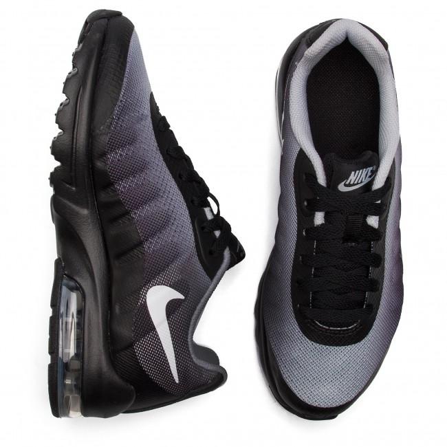 Shoes NIKE Air Max Invigor Print (GS) AH5258 001 BlackWhiteWolf Grey