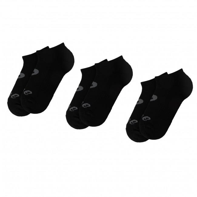 88151d1c28b 3 Pairs of Unisex High Socks ASICS - 6 PPK Invisible Sock 135523  Performance Black 0904