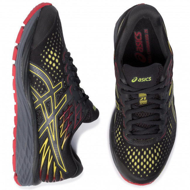 Shoes ASICS Gel Cumulus 21 G Tx GORE TEX 1011A571 Graphite GreySour Yuzu 020