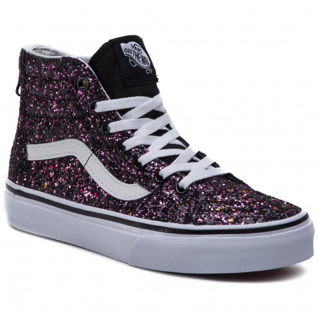 30821ef468 Sneakers VANS - Sk8-Hi Zip VN0A3276VIQ1 (Glitter Stars) Black Tru ...